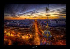 paris je t'aime encore HDR ~ Paris ~ France ~ Haussmann