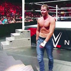 just cute, adorable, funny GIFs of Dean Ambrose. Complete at January… Wwe Dean Ambrose, Dean Ambrose Seth Rollins, Roman Reigns Dean Ambrose, Roman Reigns Shirtless, Wrestling Birthday Parties, Jonathan Lee, Wwe Total Divas, The Shield Wwe, Wrestling Stars