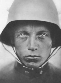 german stormtrooper officer portrait • c 1918