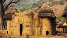 The traditional Takienta tower-houses in Togo are remarkable and they are a prideful part of their lives.