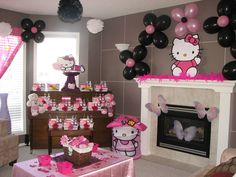 Hello Kitty Birthday Party Ideas | Photo 3 of 38 | Catch My Party