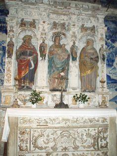 Interior da capela da Igreja de São João do Souto