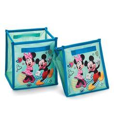 Avon Living Disney Mickey Mouse & Minnie Mouse Collapsible Storage | AVON