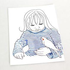 http://konatsu.theshop.jp  #cockatiel #petbirds #bird #picturebooks #illustration #オカメインコ #インコ #小鳥 #鳥 #絵本