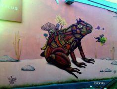 """January 25, 2013 · GraffittiFdezJuncosPda23 — at Ave. Manuel Fernández Juncos, Pda. 23, San Juan, Puerto Rico. Serie: """"Los Muros Hablan"""" Autor:  País Origen: Año: 2012"""