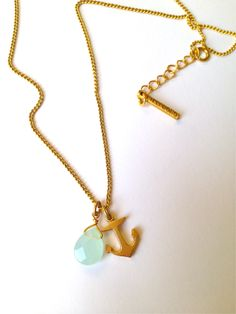 BRIKA.com | Anchor Necklace | $42