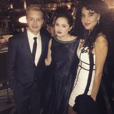 """ @shameless with the cutes couple @noel_fisher and layla alizada at the #shameless premiere """
