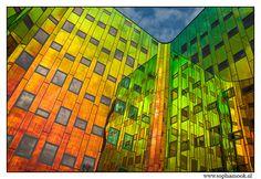 kleur in de architectuur, l'arc en ciel in deventer