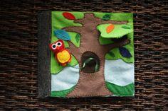 Resultado de imagen de felt tree quiet book