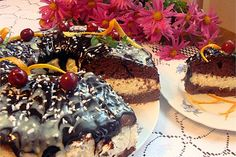 Ciasto z kremem kokosowym