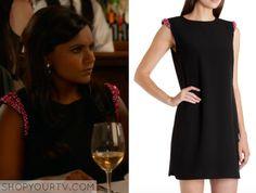 The Mindy Project: Season 3 Episode 9 Mindy's Black Embellished Dress