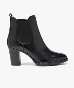 Paradise Style de vie Bottines Chelsea homme chaussures de haute cheville semelle en caoutchouc taille en cuir