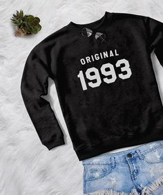 Original 1993 • Sweatshirt • jumper • crewneck • sweater • Clothes Casual Outift for • teens • movies • girls • women • summer • fall • spring • winter • outfit ideas • hipster • dates • school • back to school • parties • Polyvores • facebook • accessories • Tumblr Teen Grunge Fashion Graphic Tee Shirt