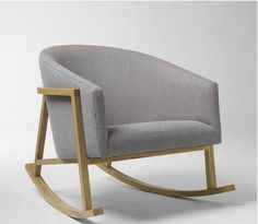 Grey Ryder Rocking Chair from West Elm -- LOVE!