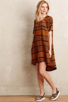 Fen Striped Shift - anthropologie.com #anthroregistry