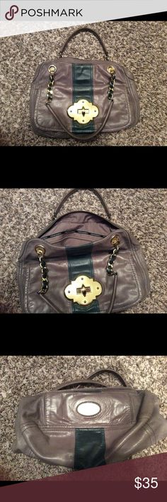 Cynthia Rowley satchel Nice bag. Leather has some minor scratches, the camera didn't pick up. The zipper pull link was changed. Still in good condition Cynthia Rowley Bags Satchels