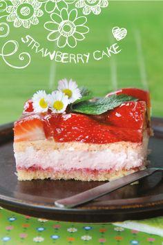 Erdbeer-Sahne-Schnitte