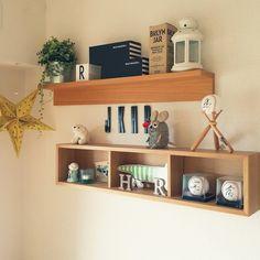 cherryさんの、棚,デザインレターズ,IKEA 雑貨,サインボール,イッタラ,無印良品…