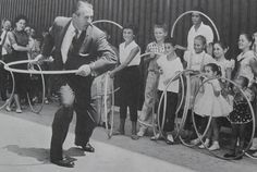 Hula Hoops were soooo fun when i was little.... its good to see the little ones today play with them too... great excercize
