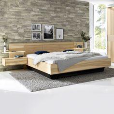 Diy Modern Bed, Cozy Bedroom, Bedroom Decor, Floating Bed, Bedroom Design Inspiration, Bedroom Cupboard Designs, Kitchen Cabinet Styles, Bedroom Furniture Design, Minimalist Bedroom