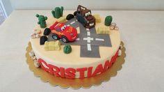 Cars cake saetta mc queen cricchetto