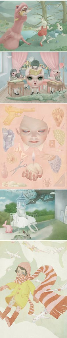 Hsiao-Ron Cheng. cute and creepy! what do you think, @Peter Riekert