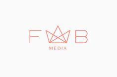 Logo by Stockholm-based graphic design studio Bedow for Swedish company Fab Media