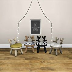 Leo 4 Sims: Toddler Bambi Chair • Sims 4 Downloads