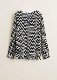 Paisley print dress - Women | Mango United Kingdom Paisley Print Dress, Tie Shorts, Outlet, Mango, Print Design, Short Dresses, Bell Sleeve Top, Short Sleeves, Shirts