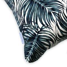 Summer Palm Velvet Cushion