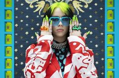 Gossipss.com Home Made Hand Sanitizer, Billie Eilish, Music Is Life, Vogue, Sunglasses, Inspiration, Google Search, Style, Cover