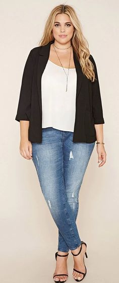 Cute Outfits For Plus Size Casual Outfits Plus Size Blog, Plus Size Chic, Look Plus Size, Curvy Plus Size, Plus Size Casual, Plus Size Fashion For Women, Plus Size Womens Clothing, Size Clothing, Plus Size Outfits
