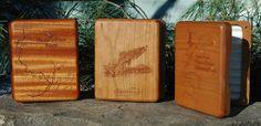 Stonefly Studio River Map Fly Box Trio