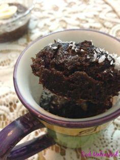 Cook Unleashed: 2 Min. Fudgy Mug Brownie