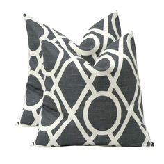 Bamboo Pillow in Graphite