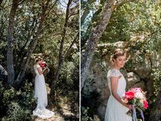 novias, vestido novia, jesus peiró , ramo, bodas lleida