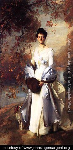 Portrait of Pauline Astor - John Singer Sargent - www.johnsingersargent.org