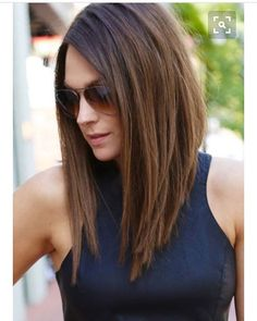 Looking at hair cuts on Pinterest. My hair hasn't been cut since September going to treat myself! Just need to find a hairdresser! #invertedbob #longbob #pinterest #hairideas