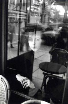 Édouard Boubat    Café La Tartine, Rue de Rivoli, Paris, 1980.