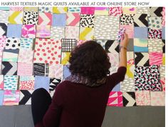A modern twist on the concept of quilting