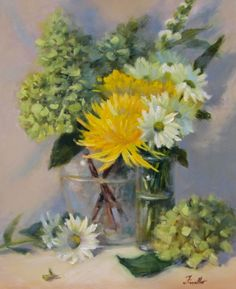 Thinking of You, painting by artist Pat Fiorello