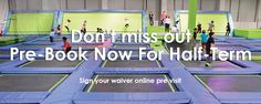 Special Offers At Jump In Trampoline Arena  Here at Jump In Trampoline Arena, we have a host of offers running at specific times making our facilities available to all ages. Our toddler time runs every weekday morning, it costs £10 for a parent/ toddler combo. It is a great time to get the kids out of the house and give them some fun exercise. Toddler Time is every weekday from 10am-12pm (excluding bank & school holidays) £10 for parent & toddler 1 hour jump £5 for any additional children