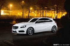 2013 Mercedes Benz A Class 200 CDi AMG in Cirrus White #oneday