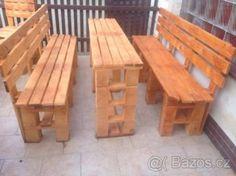 Zahradní nábytek - set z EUR palet