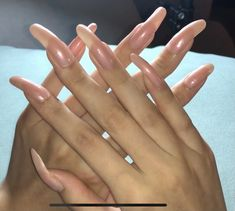 Long Natural Nails, Long Nails, Beautiful