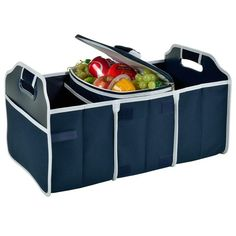 Folding Trunk Organizer with Cooler