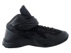 Nike Zoom LeBron Soldier 8/VIII 2015 Chaussure de Basket-ball Pas Cher pour Homme Noir 653641-001