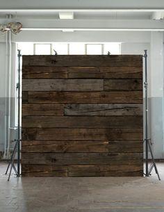 Piet Hein Eek 10 - Scrapwood - Beton, Sten & Træ - Tapetkunst.dk