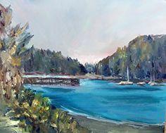 Marilyn Froggatt - Work Detail: Bowman Bay I