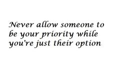 Very true. Most of my friends wouldn't put me through that, but you can't completely avoid selfish people.
